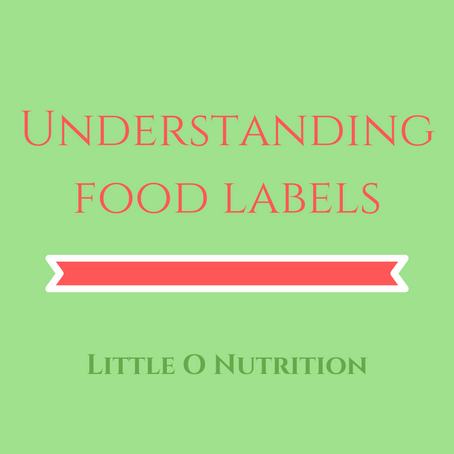 Understanding Food Labelling
