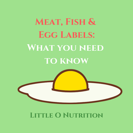 Meat, Fish & Egg Labelling: What does it mean?