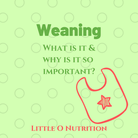 Weaning: Why is it so important?