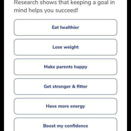 Childhood Weight Loss App? For profit not health.