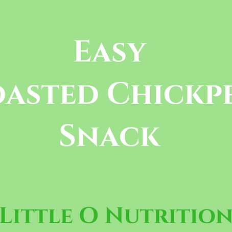 Roasted Chickpeas - Easy snack Idea