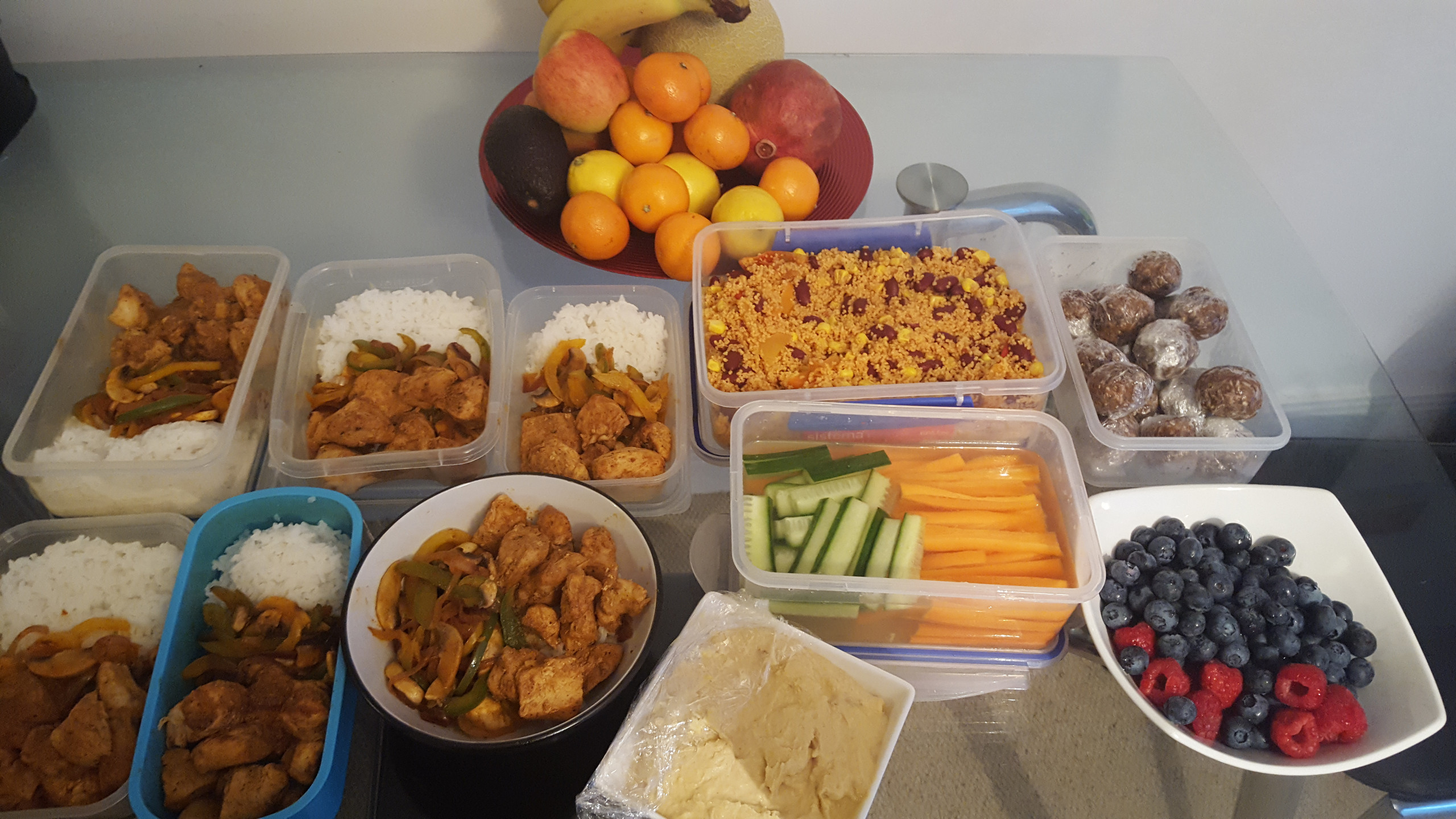 Examples of my meal planning and prepping!