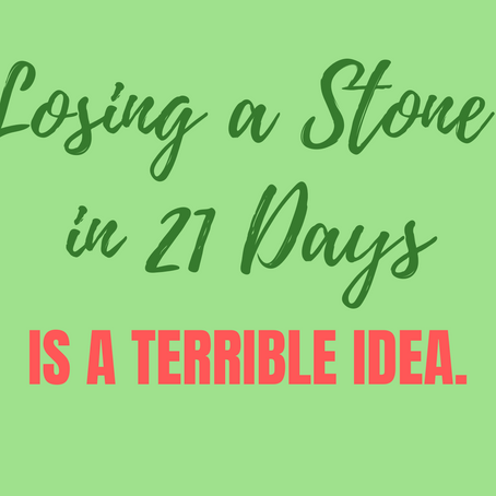 Lose a Stone in 21 Days: The Ultimate Fad Diet
