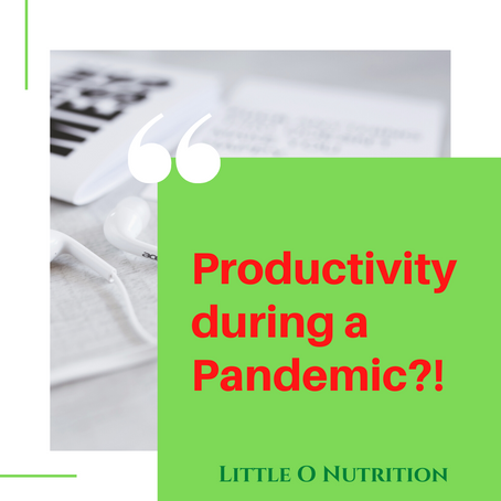 Productivity during a Pandemic?