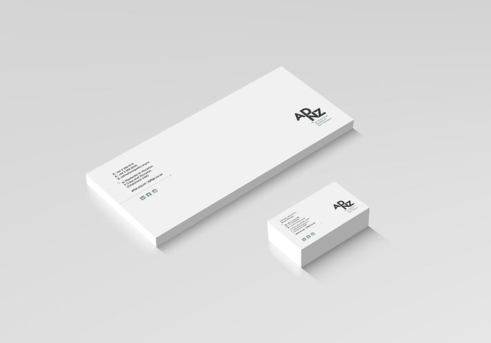 ADNZ Stationery Design