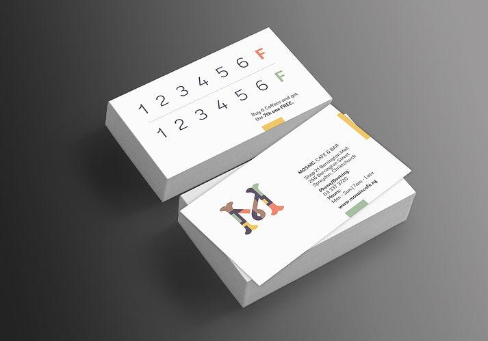 MOSAIC Coffee Card Design