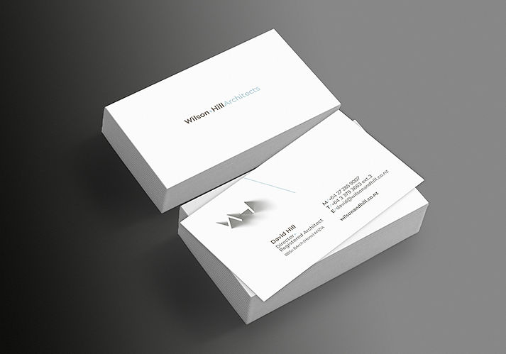 W&H Stationery Design