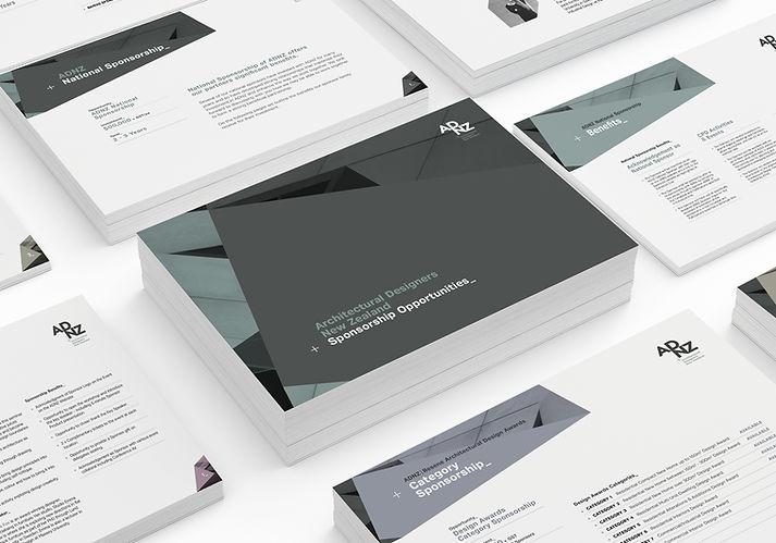 ADNZ Brochure Design