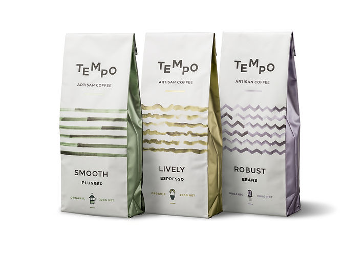 TEMPO Coffee Packaging Design