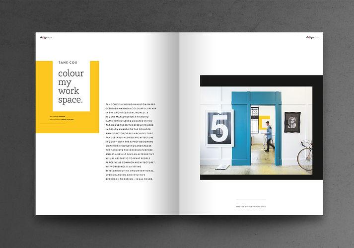 DEFIGN Magazine Design