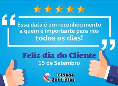Feliz dia do cliente
