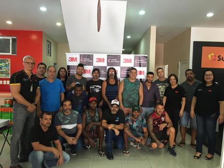 Café da Manhã com clientes - Cidade Das Tintas e 3M.