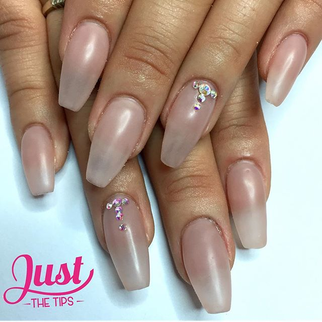 Natural nail look! A special treat for a special lady! 💅🏾💎