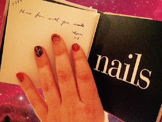 """""""Have Fun With Your Nails! Mom xox"""""""