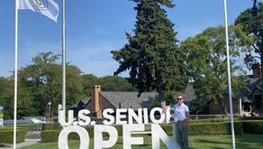 Dr. Goodman at the US Senior Open