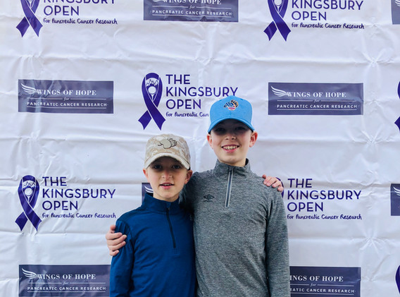 Tom Kingsbury's Grandsons
