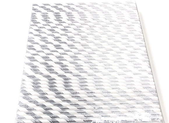Silver White Foil