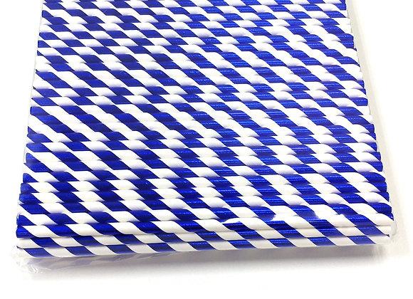 Blue White Foil