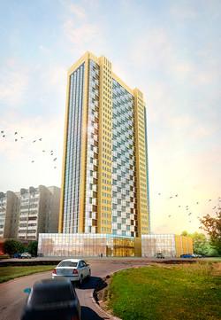 30 этажный жилой дом
