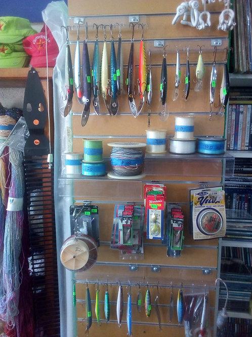 Señuelos de pesca y accesorios