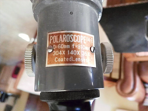 Polaroscope 114E Classic Telescope