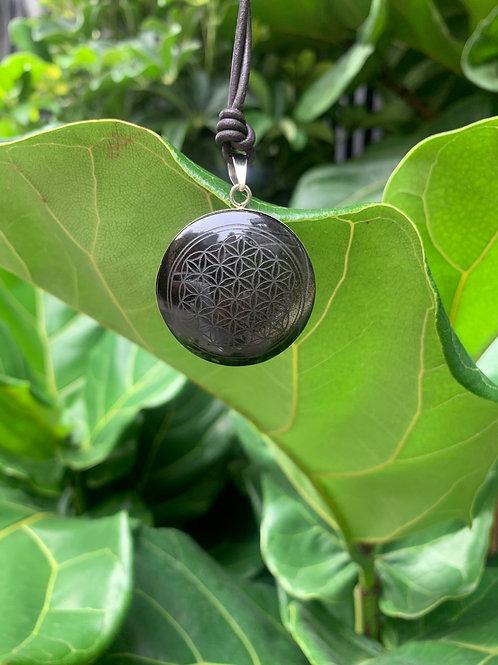 Flower of Life (Obsidian)