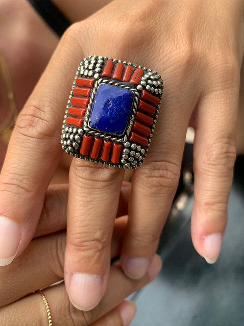 Lapis Lazuli Ring (Unisex)