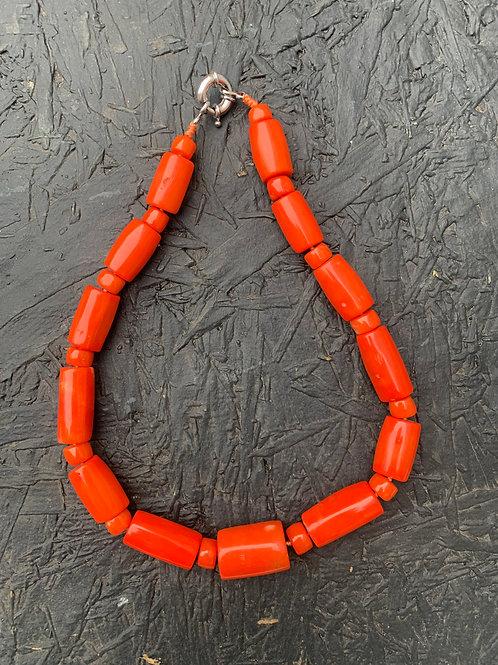 Rare Mediterranean Coral Necklace