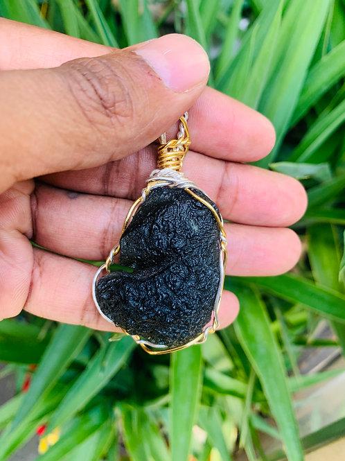 Moldavite Wrapped [Large]