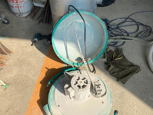エバラ集塵機のオーバーホール