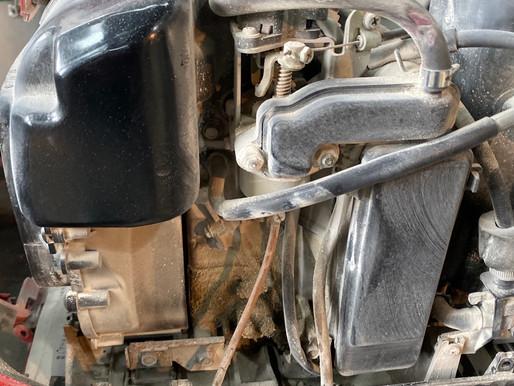 インバータ発電機のリコイルロープの修理と 点検!