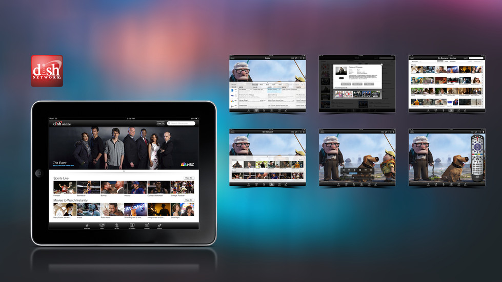 Dish iPad App