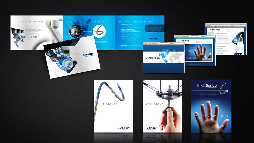 Hansen Marketing Materials