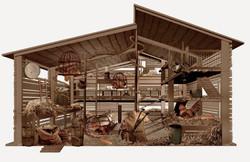 2-interior gallinero