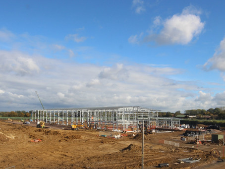 STEELS UP AT DPD'S NEW BICESTER FACILITY