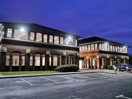 £2 MILLION REFURBISHMENT OF  HALLADALE HOUSE REACHES FINISH LINE