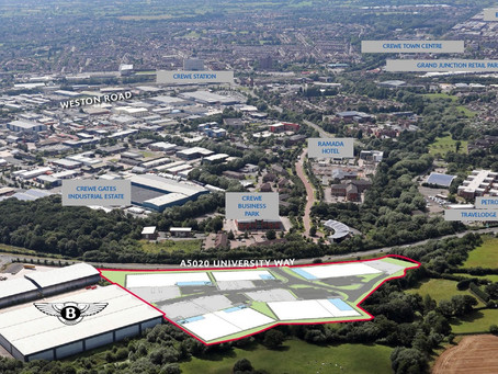 PROPERTY DEALS HIGHLIGHT DEMAND FOR SPACE IN CREWE