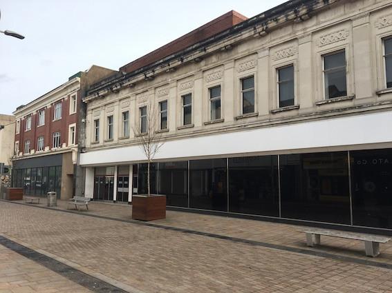 Former Marks & Spencer's building in Stockport