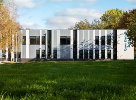 ERIC WRIGHT COMPLETES THREE NEW SCHOOLS