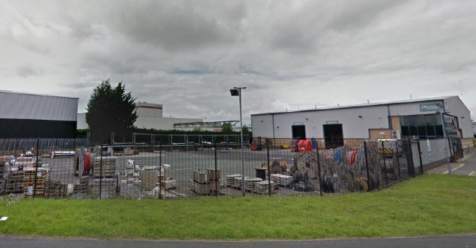15,000 sq ft industrial unit on Sovereign Way