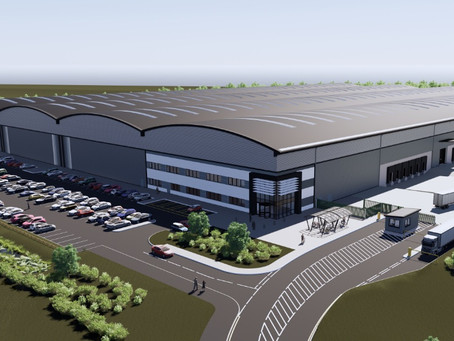 PLANS IN FOR 867,000 SQ FT OF LOGISTICS / DISTRIBUTION SPACE AT MA6NITUDE