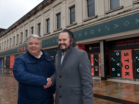 NEW OFFICES REVEALED FOR STOCKPORT TOWN CENTRE