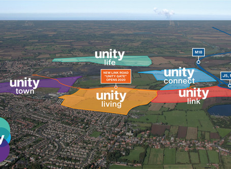 GERALD EVE PLANNING TEAM APPOINTED TO YORKSHIRE'S UNITY SCHEME