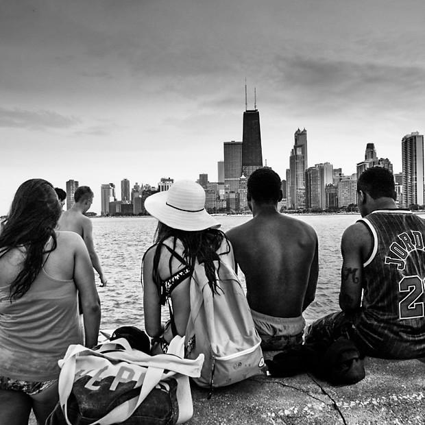 Chicago B&W
