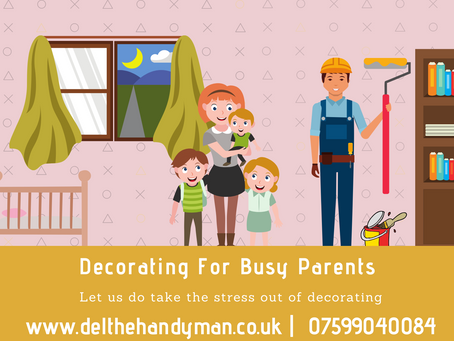 Decorating For Busy Parents! We can make juggling decorating and kids easier...