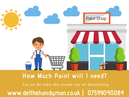 How Much Paint Will I need?