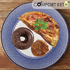 blue plate special - Fall 2021 - omelette sausage patty and donut.png