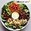 "Thumbnail: Chicken-Bacon-Bleu Salad with keto ""honey-mustard"" dressing"