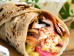 A Greek Tradition To Provide Much-Needed Structure In Times Of Crisis, Fish Cake Wrap Sandwich!