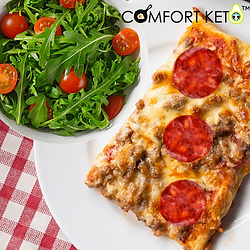 Pepperoni pizza -with salad.png
